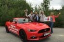 Ford Mustang drove on one tank of a record 1 249.3 km!