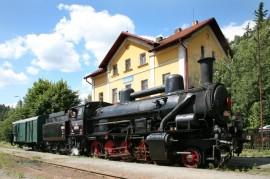 Steam train for Antonin Dvorak