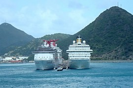 Full steam ahead or the Caribbean on a luxury cruise liner
