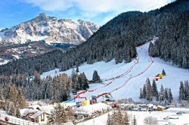 For alpine skiers to South Tyrol