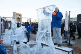 Ice world statesmen. Galerie Harfa in the icy garb for the sixth time