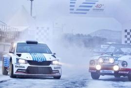 ŠKODA si na Rally Monte Carlo připomene legendární triumf před 40 lety