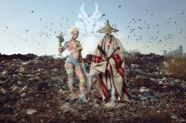 Eccentric Die Antwoord, another headliner Rock for People