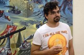 Top comics writer Karel Jerie exhibits at Galerie Portheimka