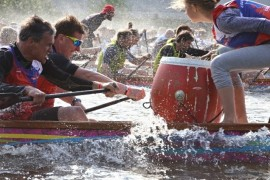 The Dragon Boats on the Vltava River are already under the twenties!