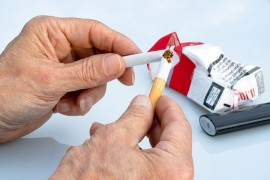 What happens in the body after quitting smoking?