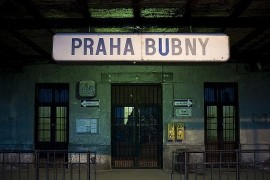 Prague-Bubny Railway Station in June - Unique alternative scene and gallery
