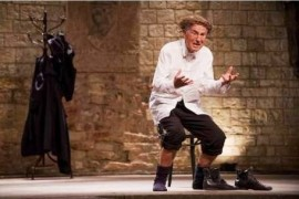 An extraordinary performance with Jan Tříska returns to the Castle
