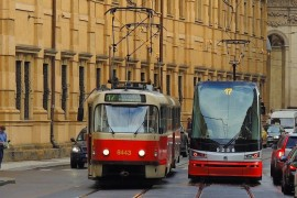 "European mobility week under the slogan ""Sharing Gets You Further"" in the Czech Republic S"