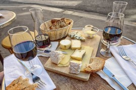 Cheese and wine - how best to get married?