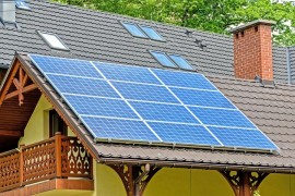 Solar energy is used by 8% of households