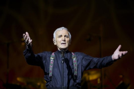 "Charles Aznavour ""encore une fois"" - once more - in the Czech Republic!"