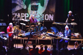 Frank Zappa's band The Grandmothers Of Invention in May in Prague