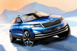 New ŠKODA for China - the first urban SUV sketch