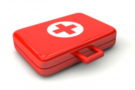Travel first aid kit. Think in time for prescription drugs, you will replace the worst