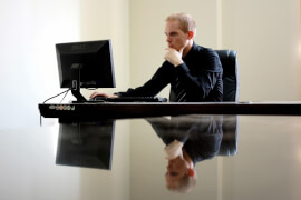 Almost half of people are dependent on work.